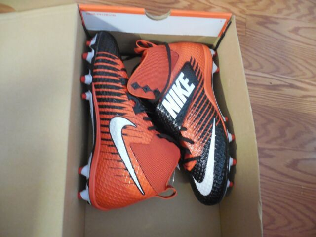 New NEW NIKE ORANGE LUNARBEAST PRO TD MID FOOTBALL LACROSSE 833421 018 CLEATS