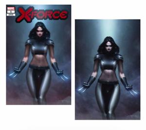 X-Force-1-DX-Marvel-2019-NM-Jeehyung-Lee-X-23-Wolverine-Virgin-Set-Variant-X-Men