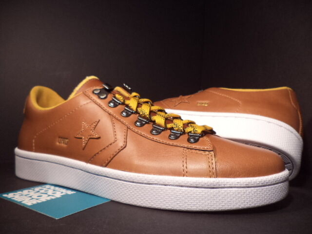 CONVERSE PRO LEATHER UND UNDFTD UNDEFEATED OX GOLDEN YELLOW BROWN DS 137373C DS BROWN 7.5 05eada