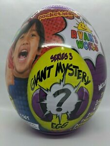 RYAN-S-WORLD-Giant-Mystery-Purple-Egg-Series-3-New-amp-Sealed-FREE-SHIPPING