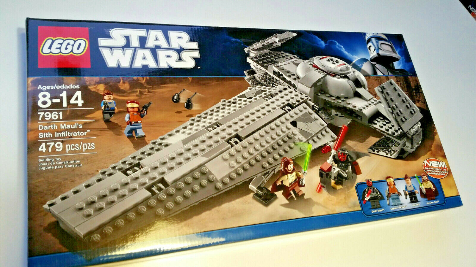 LEGO 7961 Stern Wars Darth Maul's Sith Infiltrator NEW Never offened