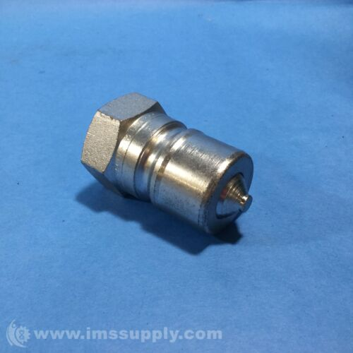 PARKER H6-63 HYDRAULIC COUPLER NIPPLE BODY USIP 3//4-14 3//4 IN