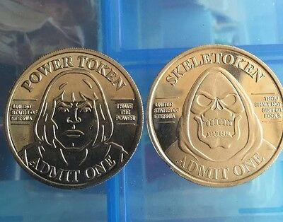 He-Man  Power Token Super7 SDCC 2015 Masters of the Universe Coin