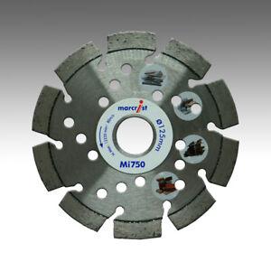 Marcrist-Mi750-125mm-x-22-23mm-Diamant-Trennscheibe-Granit-Klinker-Naturstein