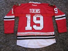 Jonathan Toews Signed Chicago Blackhawks Jersey NHL World Cup Hockey W/PROOF