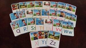Paw Patrol-Apprendre l'Alphabet/Lettres-EYFS-Sen gardienne  </span>