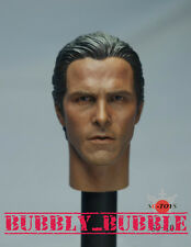 1/6 BATMAN Bruce Wayne Christian Bale Head Sculpt 2.0 For Hot Toys SHIP FROM USA