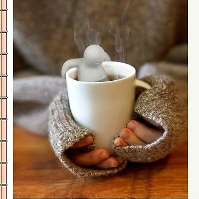 Infuser Silicone Tea 1PCS TEA Leaf Strainer Herbal Spice Cute Filter Diffuser