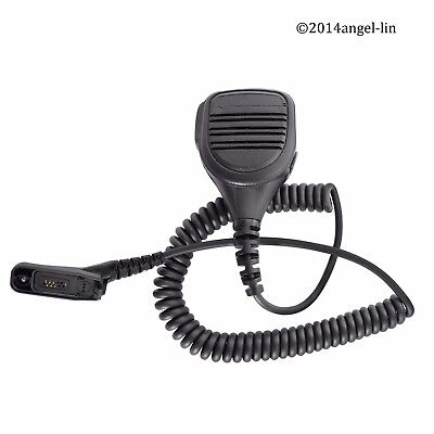 Lot 2 Remote Speaker Microphone for Motorola XPR7350e XPR7580 2 Way Radio