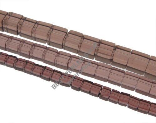 3 Strange Perlenset GLASPERLEN LILA WÜRFEL 4mm 6mm 8mm Schmuck Basteln D52A