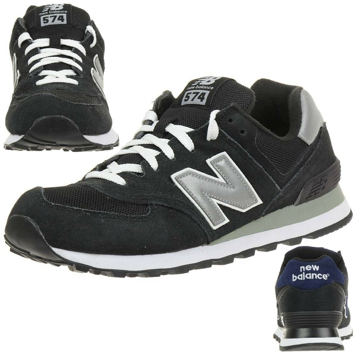 New Balance ML574 NK Classic Sneaker Herren Schuhe schwarz ML574SNK