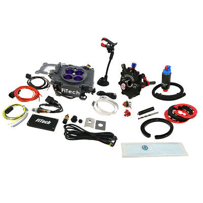 FiTech 30008 Meanstreet EFI 800HP System & 40019 Hy-Fuel In-Tank Pump Kit