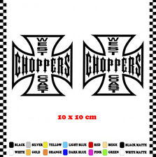 PEGATINA/STICKER/DECAL/AUFKLEBER/VINYL WEST COAST CHOPPERS MOTORCYCLE