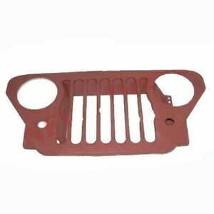 Primer Coated Radiator Steel Grille Grill For Willys Ford 50-52 M38 Jeeps ECs