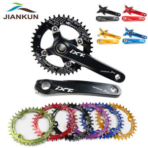 IXF-MTB-Bike-104BCD-Crankset-170mm-Crank-Narrow-Wide-Single-Chainring-BB-32-42T
