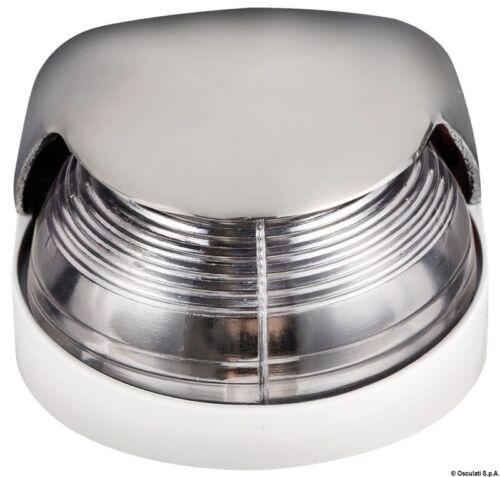 OSCULATI LUCE DI POSIZIONE LUCE DI NAVIGAZIONE v4a in acciaio inox 225 ° BIANCO buglicht