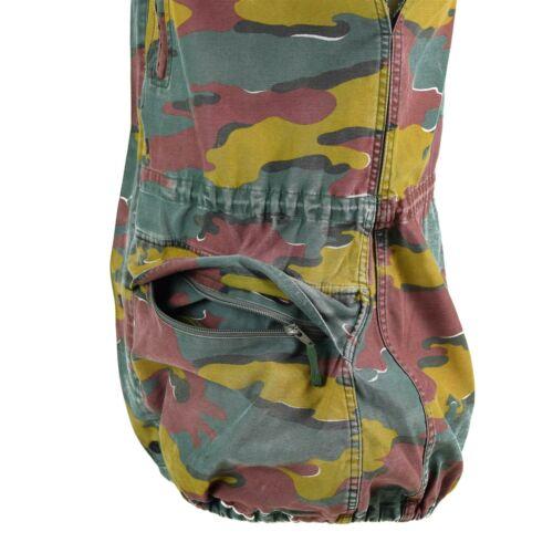 Original Belgian army Vest military combat M90 field JIGSAW CAMO field surplus