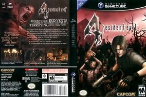 Resident Evil 4 Nintendo Gamecube Black Label Zombie Shooter