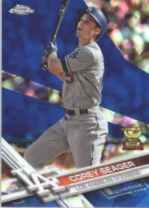 COREY-SEAGER-2017-TOPPS-CHROME-SAPPHIRE-EDITION-5-ONLY-250-MADE