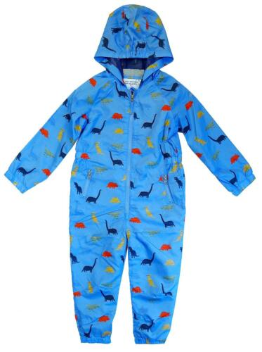 Garçons puddlesuit Toddler All in One Dino Pluie SPLASH ange 3 mois à 5 ans
