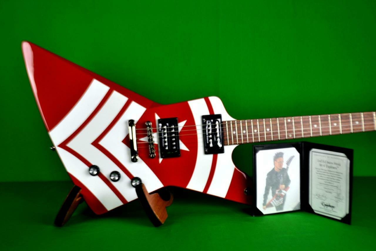 EPIPHONE LTD. ED. JASON HOOK SIGNATURE M-4 EXPLORER OUTFIT, Int'l Buyer Welcome