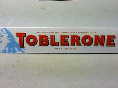 360g CHOCOLATE TOBLERONE - 4 DIFFERENT VARIETIES - MILK, DARK, WHITE CHOCOLATE