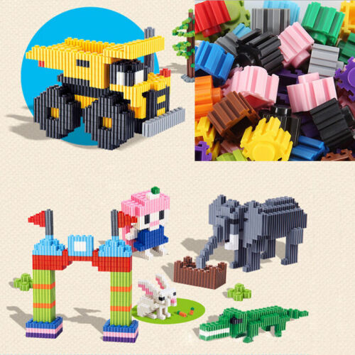 200pcs Kids Baby Snowflake Creative Building Blocks Educational Puzzle Toys TopJ