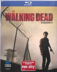 Blu-ray-The-Walking-Dead-Stagione-4-cofanetto-slipcase-5-dischi-Nuovo