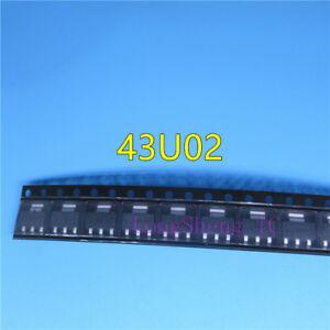 10PCS-Triode-43U02-patch-SOT-223-NEW