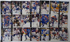 1994-95-Upper-Deck-UD-Edmonton-Oilers-Team-Set-of-21-Hockey-Cards