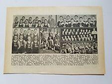 American Fork Utah High School Bingham Logan Moroni Weber 1930-31 Basketball Pic