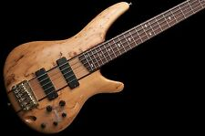 Ibanez SR785 5 String Bass Guitar Spalted Maple Top no case