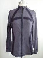 Lululemon Define Jacket Heathered Black Swan Size 12 Sold Out Rare Style