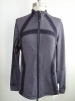 Lululemon Define Jacket Heathered Black Swan Size 12 Sold Out Rare Style