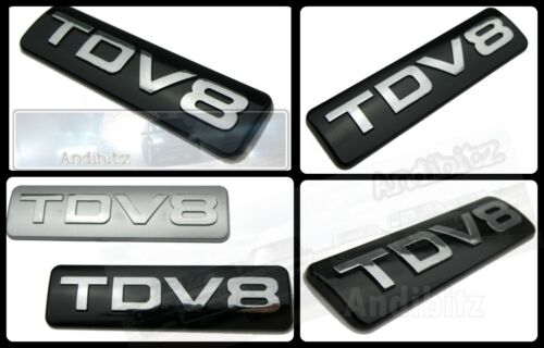 RANGE Rover Vogue DISCOTECA Chrome Nero TDV8 POSTERIORI avvio Badge PORTELLONE ULTIMATE