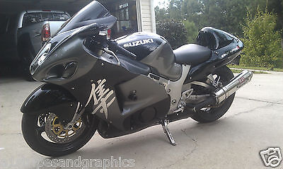 MotorBike Fairing Side Motorcycle Decals Body 6 Stripes Graphics