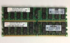 8GB (4GB X 2) Hynix DDR2 667MHz 4GB PC2-5300P ECC SERVER Registered Memory