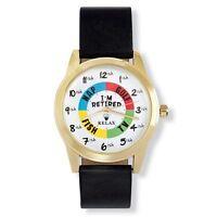 Relax Gold Retirement Watch - Funny Retirement Gift - Fun Retirement Watch