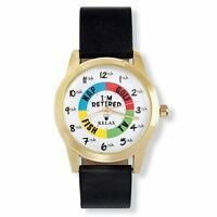 Relax Gold Retirement Watch - Funny Retirement Gift - Fun Retirement Watch