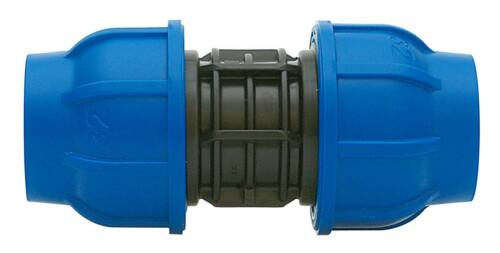 Terminal Connector Fitting Screw joint Drinking water DVGW PP PE pipe Plastic