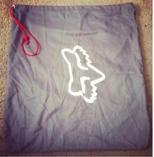 FOX RACING HELMET GREY CLOTH BAG CARRIER