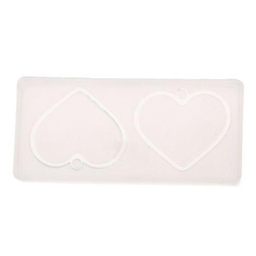 Jewelry Mold Flower Leaves Heart Shape Making Pendant Silicone Resin Craft Tools