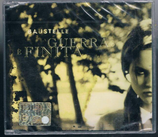 BAUSTELLE LA GUERRA E' FINITA  CD SINGOLO SINGLE cds SIGILLATO!!!