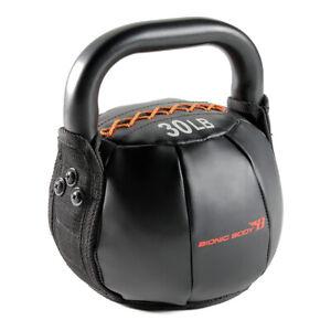 Bionic Body 30 Pound Soft Kettlebell Full Body Strength Training Fitness Weight