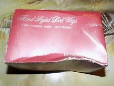 """Porcelain Doll Wig Size 12-13 Color Is Dark Brown. """"Audrianne"""" By Kemper"""