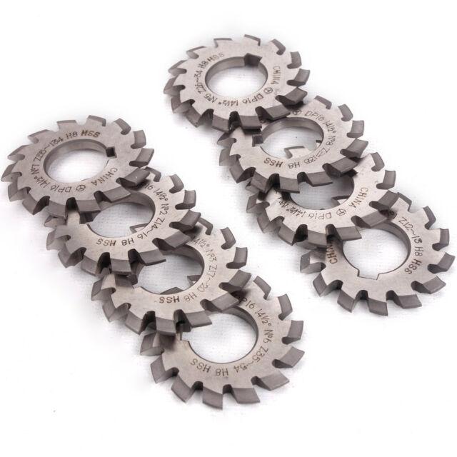 1PC Module 2.5 PA20 Bore22 1#2#3#4#5#6#7#8# Involute Gear Cutters M2.5