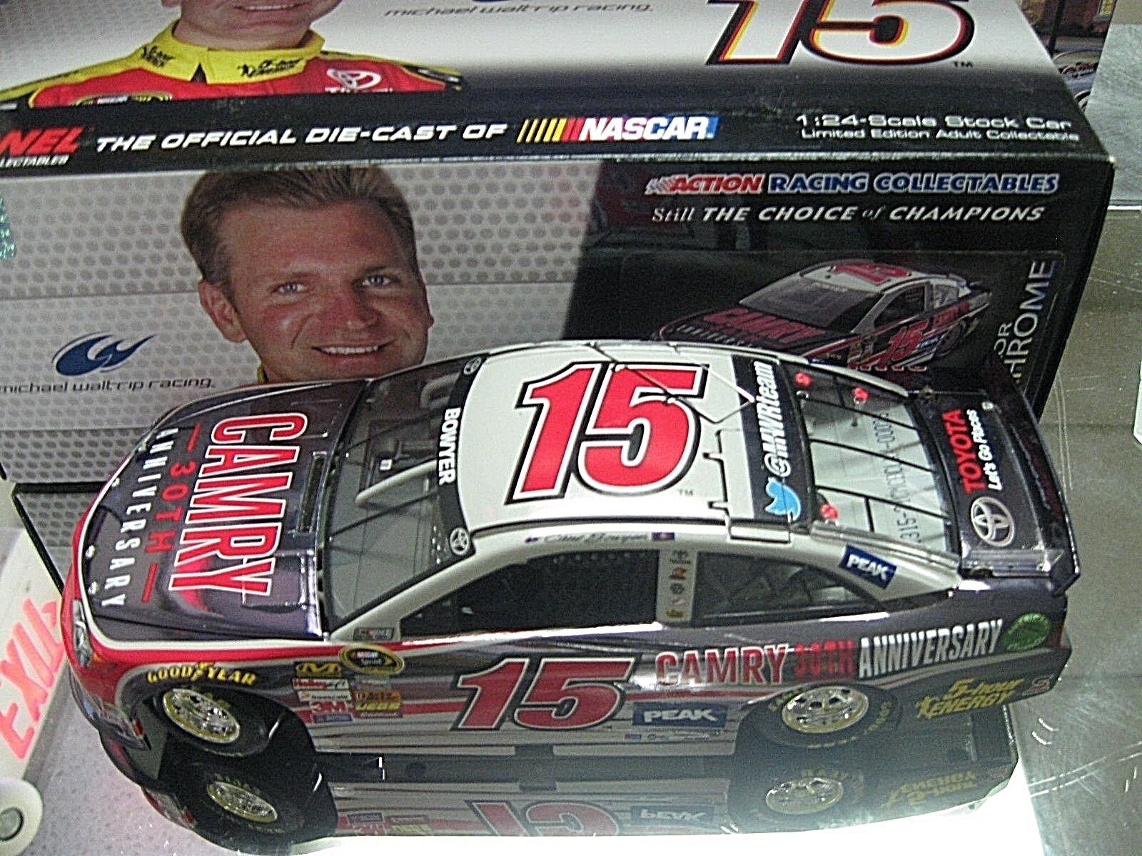RARE  2013 CLINT BOWYER CAMRY'S 30TH ANNIVERSARY COLOR CHROME WALTRIP RACING