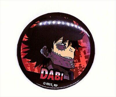 MY HERO ACADEMIA Big Tin Badge Amusement arcade Limited Shoji Fumikage Dabi...