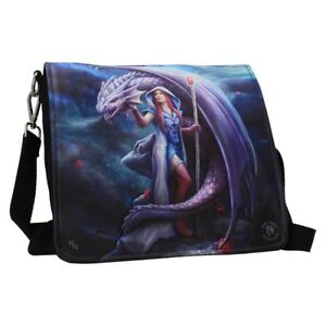 Anne-Stokes-Embossed-Shoulder-Bag-featuring-Dragon-Mage-design