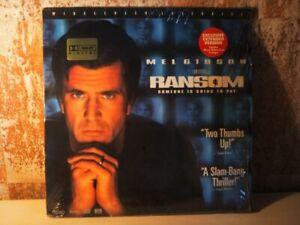 RANSOM-mit-Mel-Gibson-von-Ron-Howard-2x-LASERDISC-WIDESCREEN-Dolby-Digital